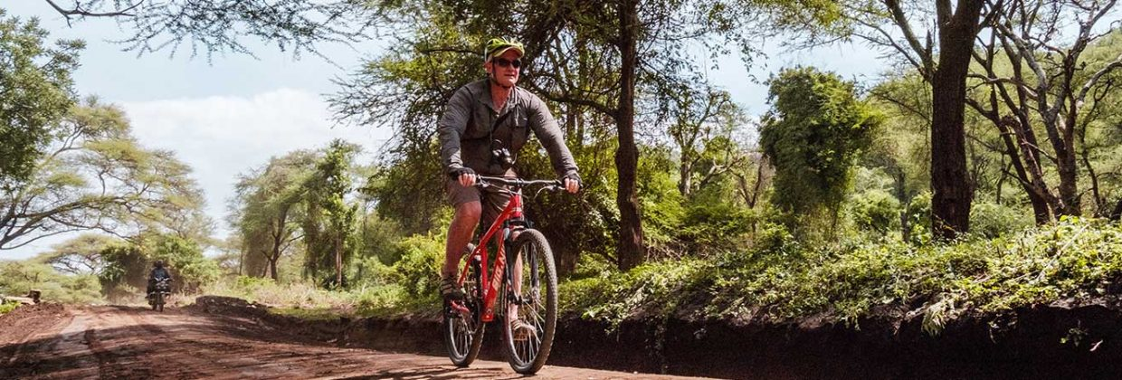 Mountainbike safari Lake Manyara