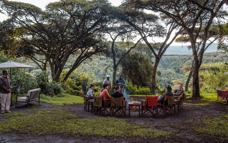 Explore Tanzania - Accommodatie Ngorongoro Krater - Sanctuary Ngorongoro Crater Camp