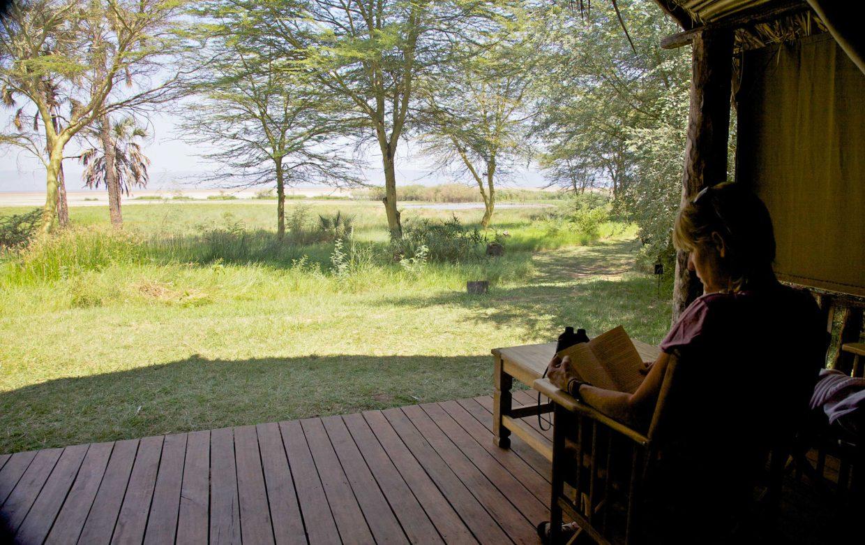 Explore Tanzania - Accommodatie Lake Eyasi - Kisima Ngeda Tented Camp