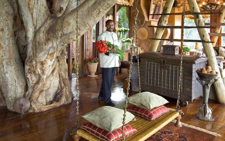 Explore Tanzania - Accommodatie Ngorongoro Krater - Ngorongoro Crater Lodge