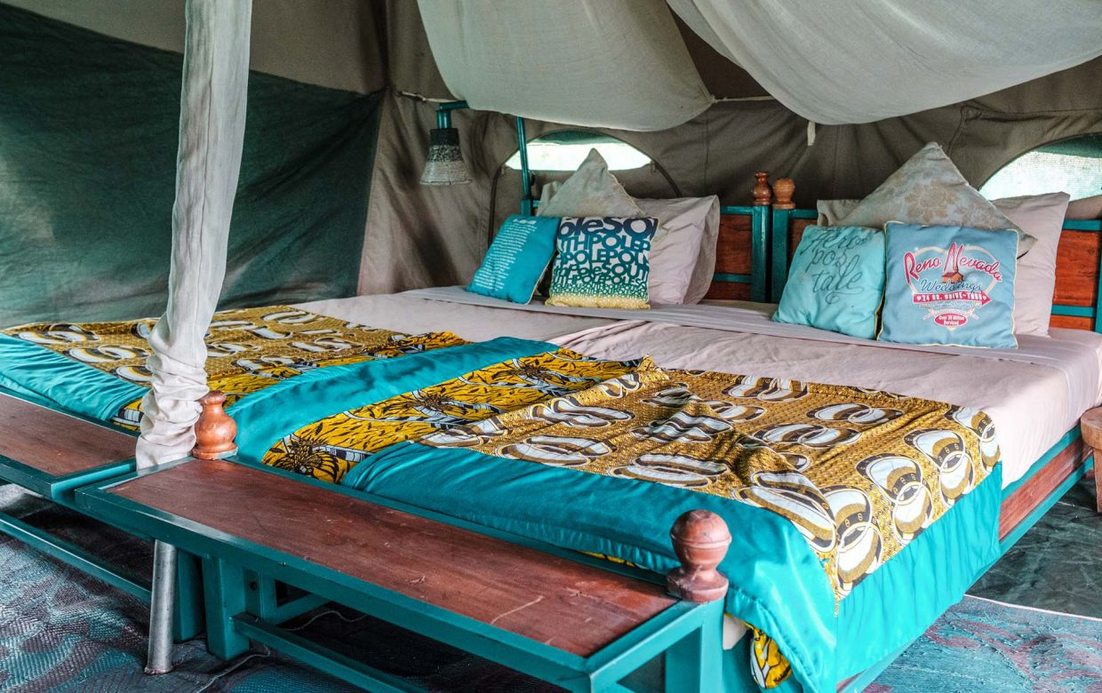 Mobiel accommodatie Explore Tanzania Green Camp