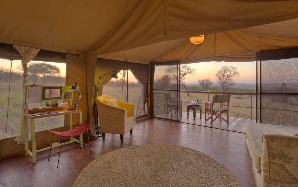 Explore Tanzania - Accommodatie Selous Game Reserve - SiwanduExplore Tanzania - Accommodatie Serengeti - Dunia Camp