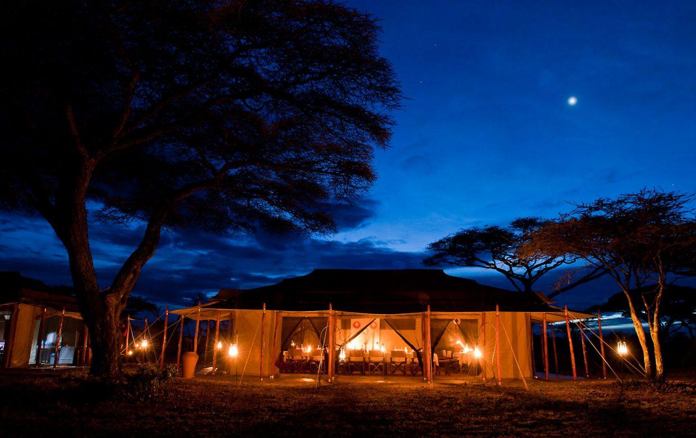 Explore Tanzania - Accommodatie Selous Game Reserve - SiwanduExplore Tanzania - Accommodatie Serengeti - Ndutu en Bologonya Under Canvas