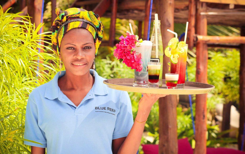 Accommodatie Zanzibar - Blue Reef Lodge en Bungalows