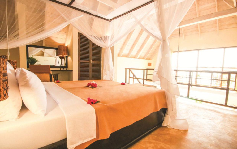 Zanzibar accommodatie - Jambiani Villa - slaapkamer