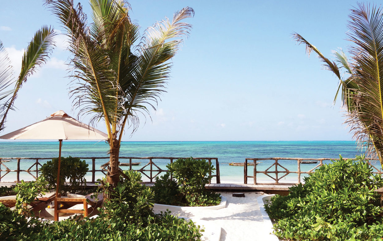 Zanzibar accommodatie - Jambiani Villa - Kaskazini uitzicht