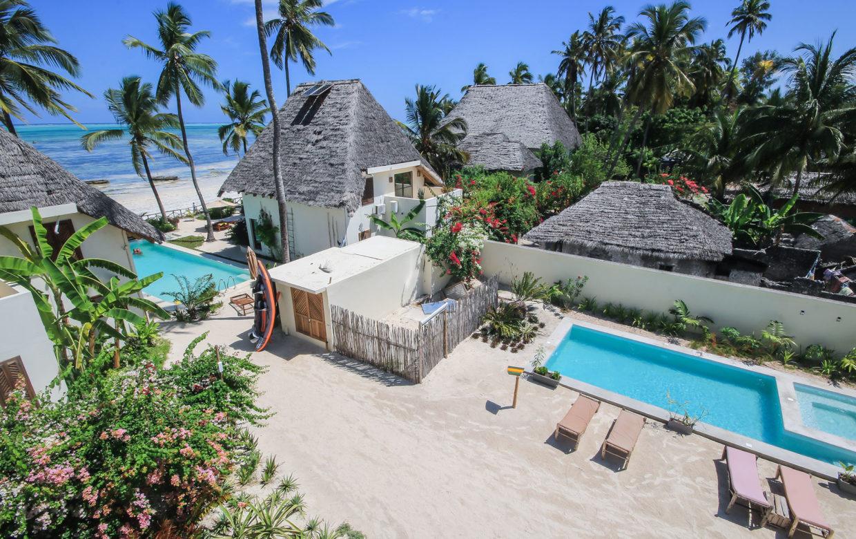 Zanzibar accommodatie - Jambiani Villa - Kusini zwembad