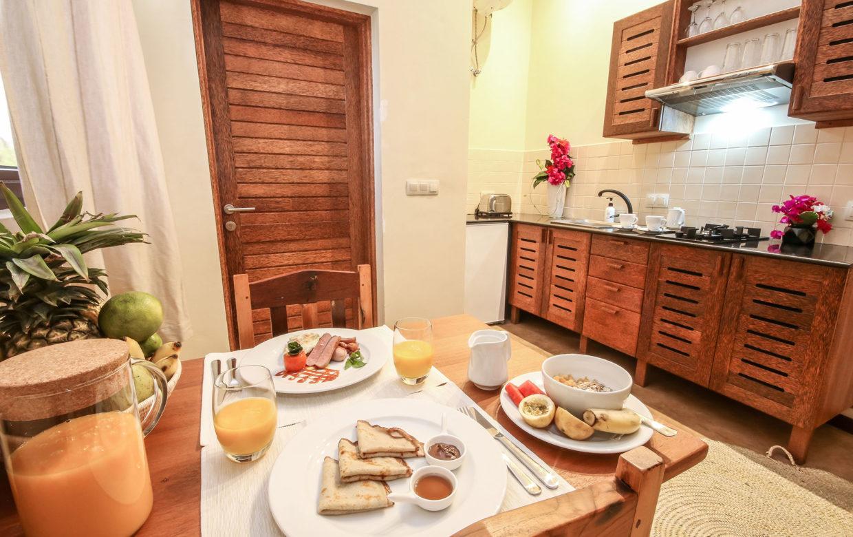Zanzibar accommodatie - Jambiani Villa - keuken