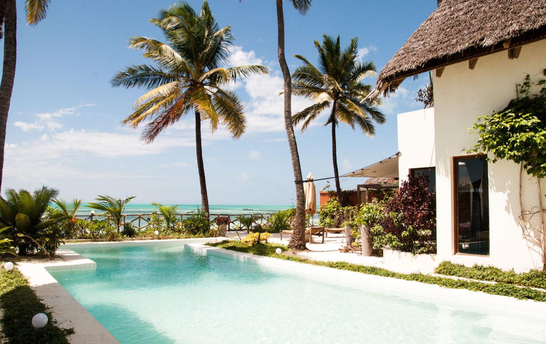 Zanzibar accommodatie - Jambiani Villa - zwembad