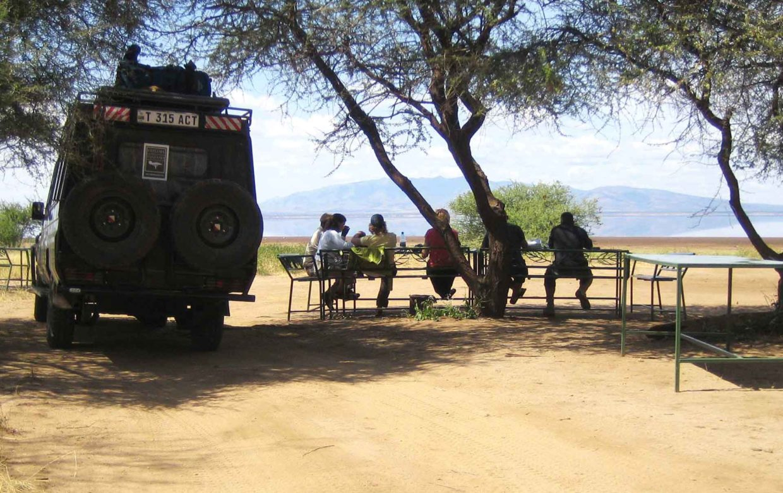 Self drive camping