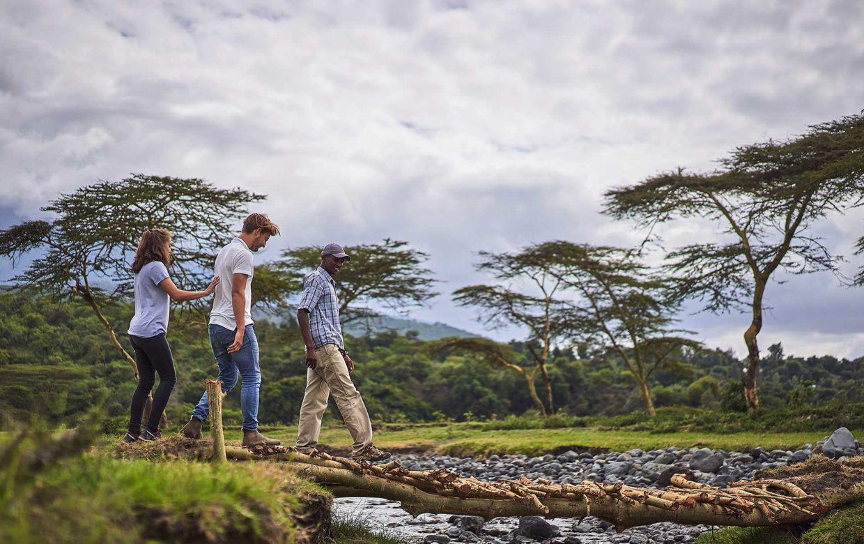Student & Safari
