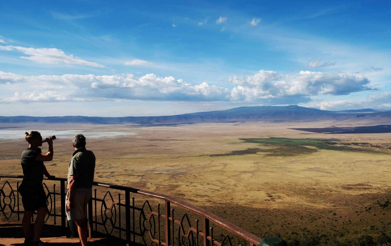 Studenten reis Tanzania Ngorongoro Krater safari