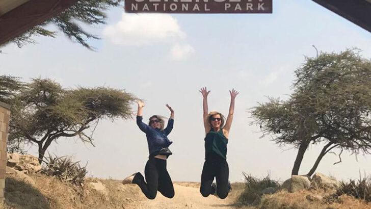 Solo in de Serengeti